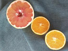 鲜果红心柚甜橙
