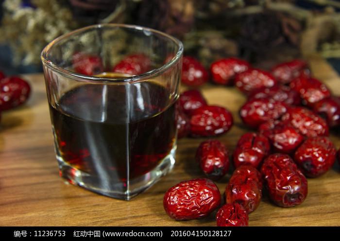 红枣茶图片