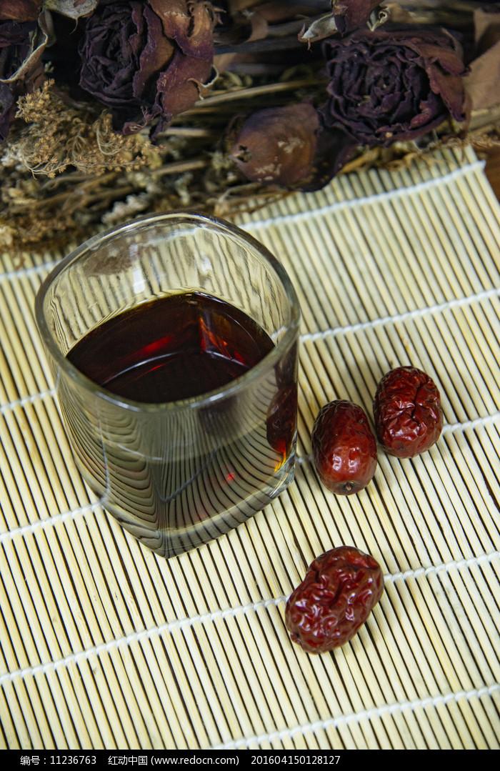红枣茶饮图片