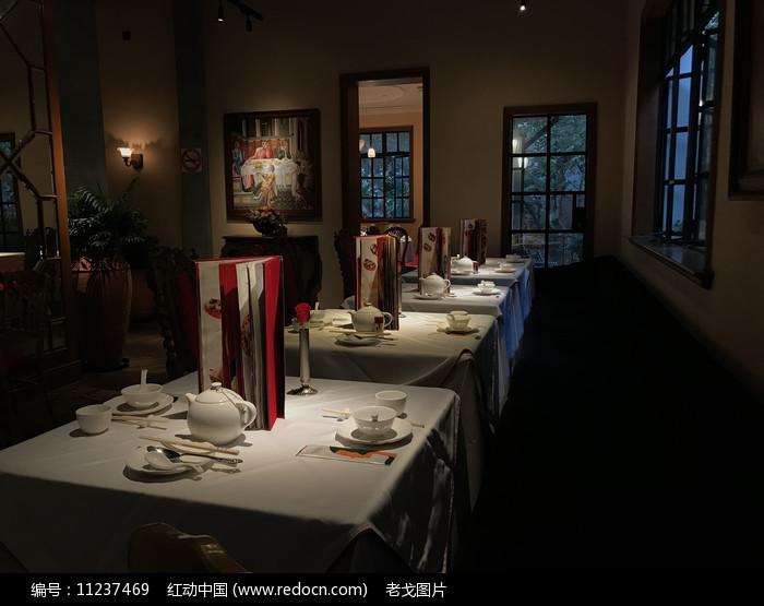 幽静的餐厅图片