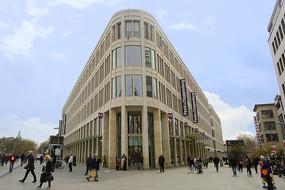 德国汉诺威市区中心商业街区