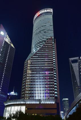 上海陆家嘴的中国银行大厦