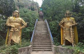 守门神雕塑