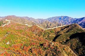 八达岭长城与红叶