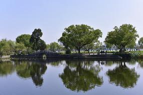 无锡蠡园的水景