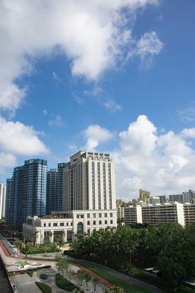 城市建筑高楼