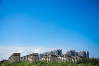 高楼建筑摄影素材