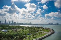 海边城市素材