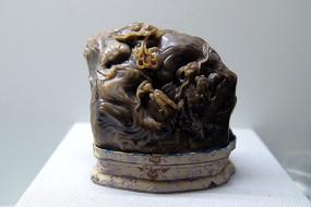 佚名雕寿山石龙章