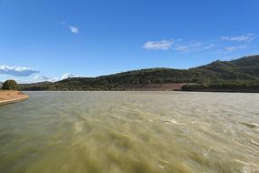 小浪底黄河水面