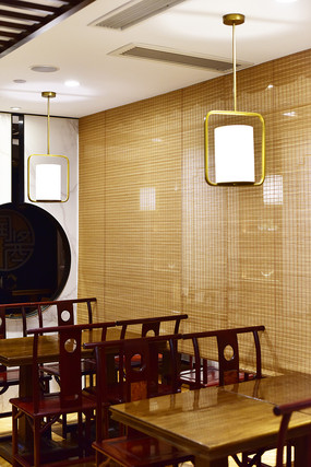中式传统风格的餐厅