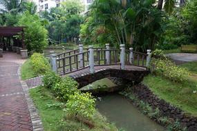 海南文昌生活住宅小区绿色环境
