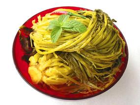 金色雪菜图片