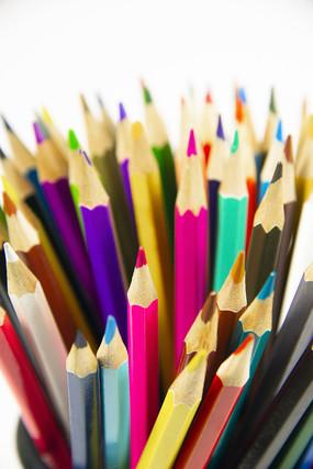 彩色铅笔头