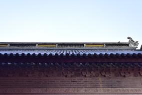 中国传统风格的墙头