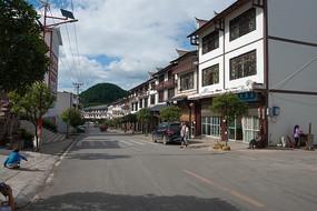 重庆市巫山县红椿土家族乡街景