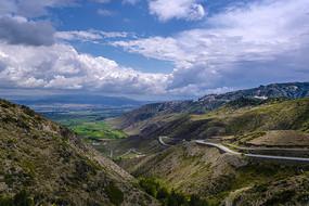 北疆山野风光