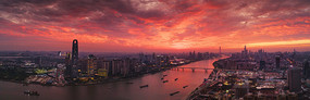 广州车陂南火烧云