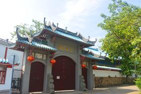 深圳赤湾天后古庙东南门楼