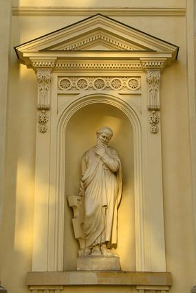 德国柏林御林广场法国大教堂装饰雕塑