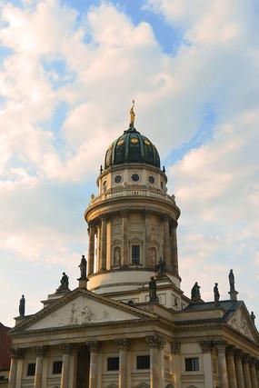 柏林御林广场-法国大教堂