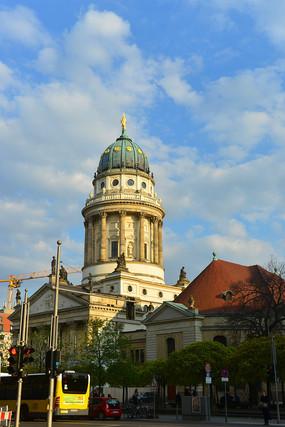 德国柏林-御林广场法国大教堂