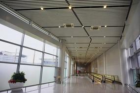长沙磁浮快线与机场之间连廊