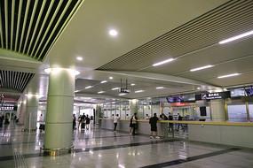 长沙黄花国际机场航站楼-到达厅室内内景