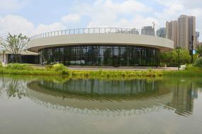 成都東風渠綠道公園展廳建筑