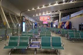 合肥新桥机场候机厅室内