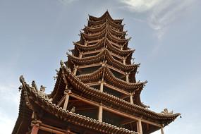 张掖万寿寺木塔
