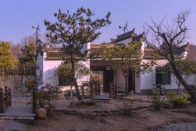 皖南中式庭院