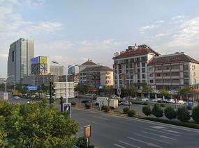 义乌城市风景