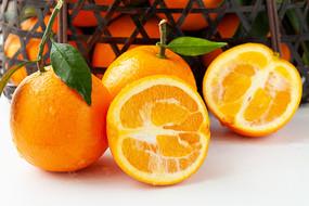 时令应季水果巫山曲尺脐橙