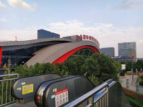 义乌汽车站地标建筑