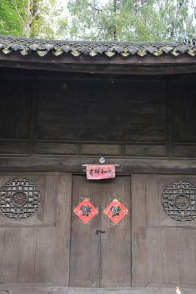 清代木雕木楼