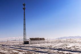 高原太阳能信号塔