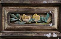 清代木雕寿桃