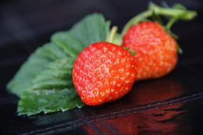 静物素材草莓