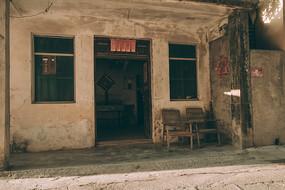 村落老房子
