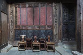 皖南古建筑中堂