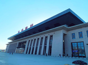宝鸡高铁南站广场