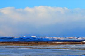 呼伦贝尔草原原野冬季风光