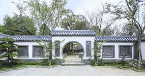 新中式别墅园林景观
