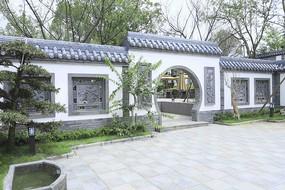新中式别墅院落