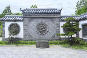 新中式影壁墙