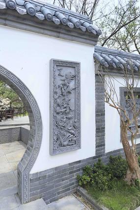 园林景观拱门雕刻