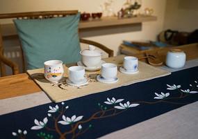 茶室的茶具