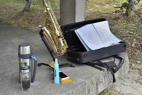 公园音乐爱好者装备