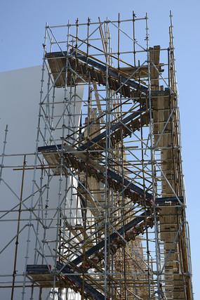建筑脚手架楼梯